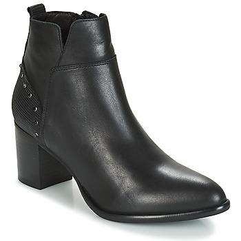 鞋子 女士 短靴 Regard RUSTANO V1 MAIA NOIR 黑色