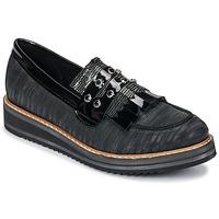 鞋子 女士 皮便鞋 Regard RUVOLO V1 ZIP NERO 黑色