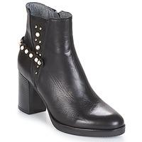 鞋子 女士 短靴 Metamorf'Ose DAMOISEAU 黑色