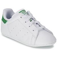 鞋子 兒童 球鞋基本款 Adidas Originals 阿迪達斯三葉草 STAN SMITH GIFTSET 白色 / 綠色