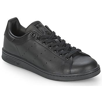 鞋子 球鞋基本款 Adidas Originals 阿迪达斯三叶草 STAN SMITH 黑色