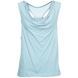 衣服 女士 无领短袖套衫/无袖T恤 Bench 奔趣 SKINNIE 蓝色