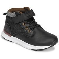 鞋子 男孩 高帮鞋 Kappa 卡帕 TELMO EV 黑色