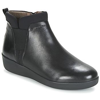 鞋子 女士 短筒靴 Stonefly 斯通富莱 PASEO IV 5 NAPPA 黑色