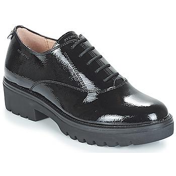鞋子 女士 德比 Stonefly 斯通富莱 PERRY II 1 PATENT 黑色