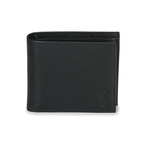 包 男士 钱包 Polo Ralph Lauren EU BILL W/ C-WALLET-SMOOTH LEATHER 黑色