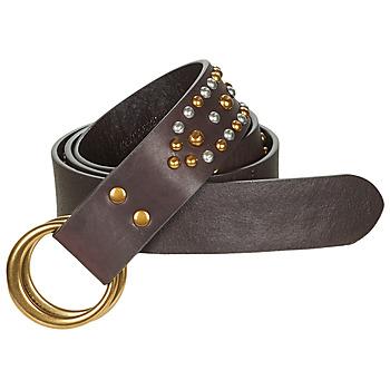 纺织配件 女士 腰带 Polo Ralph Lauren DOUBLE O RING 棕色