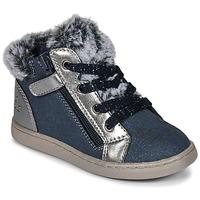 鞋子 女孩 高帮鞋 Mod'8 OUMINOU 海蓝色