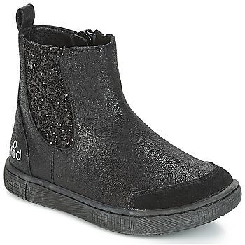 鞋子 女孩 短筒靴 Mod'8 BLABLA 黑色
