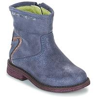 鞋子 女孩 短筒靴 Agatha Ruiz de la Prada 阿嘉莎·鲁兹·德 181970 VAGABUNDA 蓝色