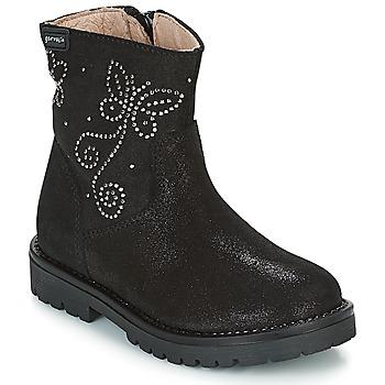 鞋子 女孩 短筒靴 Garvalin COSMOPOLITAN SERRAJE 黑色 / 银色