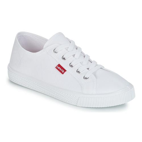 鞋子 女士 球鞋基本款 Levi's 李维斯 MALIBU BEACH S 白色