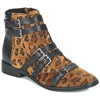 鞋子 女士 短筒靴 Le Temps des Cerises IZY Leopard