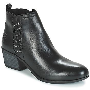 鞋子 女士 短靴 Marco Tozzi HISSU 黑色