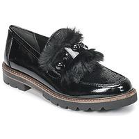 鞋子 女士 皮便鞋 Marco Tozzi TANIT 黑色