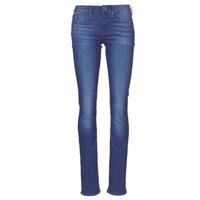 衣服 女士 直筒牛仔裤 G-Star Raw MIDGE SADDLE MID STRAIGHT 蓝色 / Edium