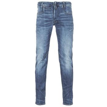 衣服 男士 紧身牛仔裤 G-Star Raw D-STAQ 5-PKT SLIM 蓝色 / Edium / 紫兰色