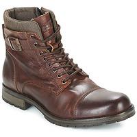 鞋子 男士 短筒靴 Jack & Jones 杰克琼斯 ALBANY LEATHER 棕色