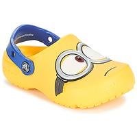 鞋子 儿童 洞洞鞋/圆头拖鞋 crocs 卡骆驰 CROCS FUNLAB MINIONS CLOG 黄色