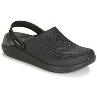 鞋子 洞洞鞋/圆头拖鞋 crocs 卡骆驰 LITERIDE CLOG 黑色