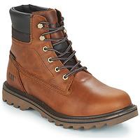 鞋子 男士 短筒靴 Caterpillar DEPLETE WP 棕色