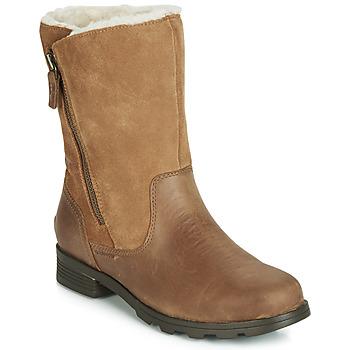 鞋子 女士 短筒靴 Sorel EMELIE FOLDOVER 驼色