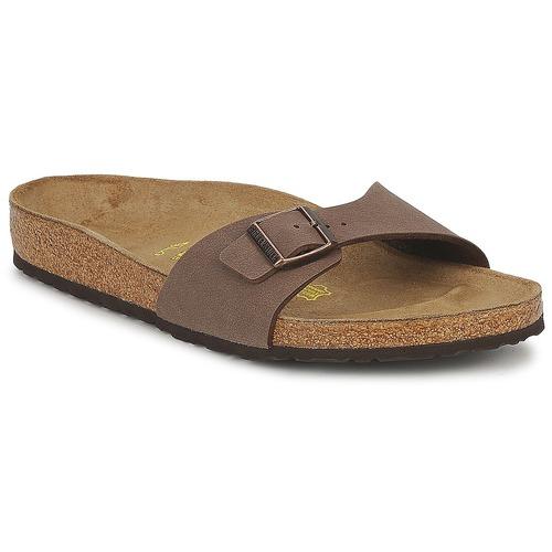 鞋子 男士 休闲凉拖/沙滩鞋 Birkenstock 勃肯 MADRID 棕色