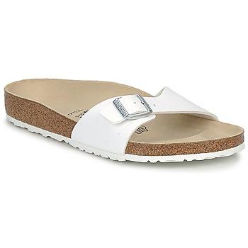 鞋子 男士 休闲凉拖/沙滩鞋 Birkenstock 勃肯 MADRID 白色