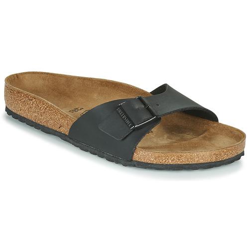 鞋子 男士 休闲凉拖/沙滩鞋 Birkenstock 勃肯 MADRID 黑色