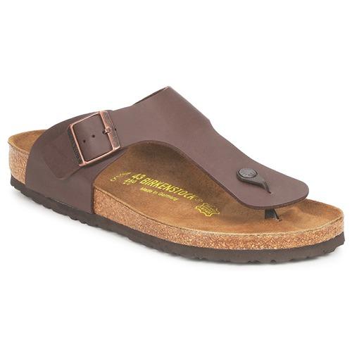 鞋子 男士 人字拖 Birkenstock 勃肯 RAMSES 棕色