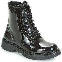 鞋子 女孩 短筒靴 Bullboxer LANA 黑色 / Patent