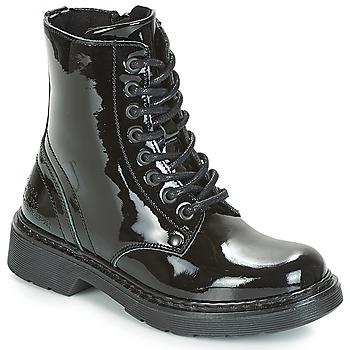 鞋子 女孩 短筒靴 Bullboxer LANA 黑色
