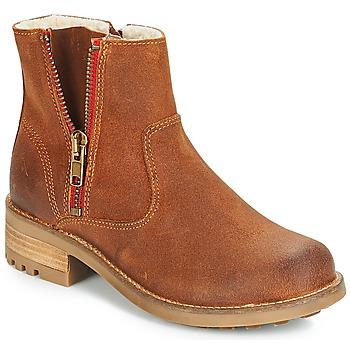 鞋子 女孩 短筒靴 Bullboxer LUNA 棕色