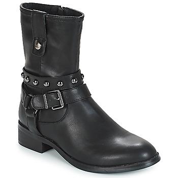 鞋子 女士 短筒靴 Les P'tites Bombes LOUNA 黑色
