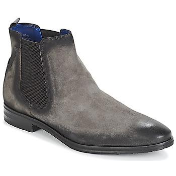 鞋子 男士 短筒靴 Daniel Hechter 丹尼爱特 ZAFILO 灰色
