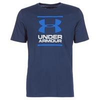 衣服 男士 短袖體恤 Under Armour 安德瑪 UA GL FOUNDATION SS T 海藍色