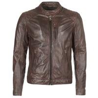 衣服 男士 皮夹克/ 人造皮革夹克 Oakwood AGENCY 棕色