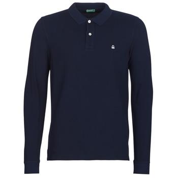 衣服 男士 长袖保罗衫 Benetton MAZARRI 海蓝色