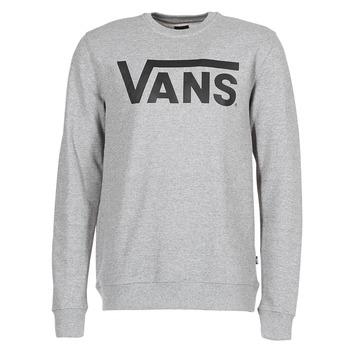 衣服 男士 卫衣 Vans 范斯 VANS CLASSIC CREW 灰色