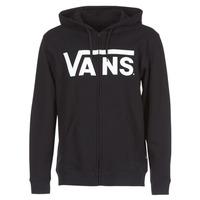 衣服 男士 卫衣 Vans 范斯 VANS CLASSIC ZIP HOODIE 黑色