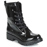 鞋子 女士 短筒靴 Buffalo SKYLIGHT 黑色 / 漆皮