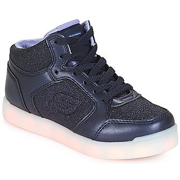 鞋子 女孩 高帮鞋 Skechers 斯凯奇 ENERGY LIGHTS 海军蓝