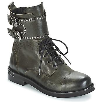 鞋子 女士 短筒靴 MIMMU MICHEE 卡其色