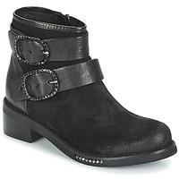 鞋子 女士 短筒靴 MIMMU MYLANN 黑色