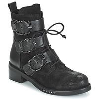 鞋子 女士 短筒靴 MIMMU MOEZ 黑色
