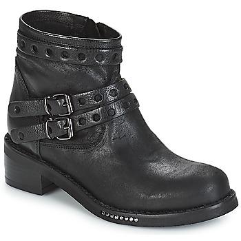 鞋子 女士 短筒靴 MIMMU MAIRON 黑色