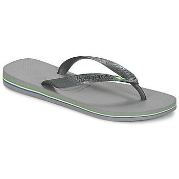 鞋子 人字拖 Havaianas 哈瓦那 BRASIL 灰色