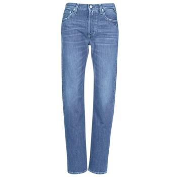 衣服 女士 女士Boyfriend牛仔裤 Replay ALEXIS 蓝色 / 009