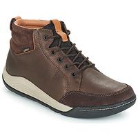 鞋子 男士 高帮鞋 Clarks 其乐 ASHCOMBE 棕色