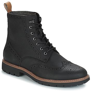 鞋子 男士 短筒靴 Clarks 其乐 BATCOMBE LORD 黑色
